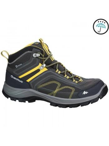 Треккинговые ботинки Quechua Forclaz 100 High Novadry