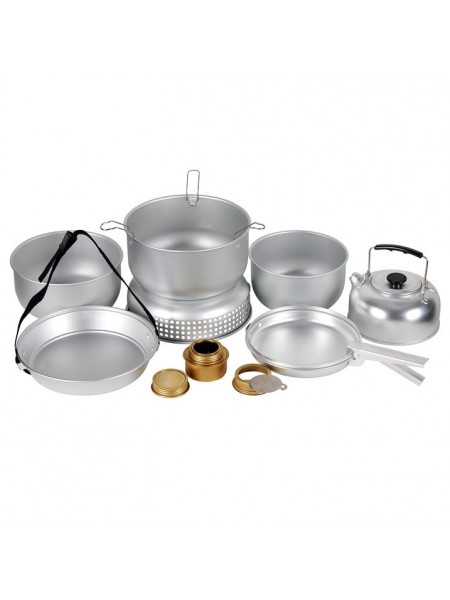 Набір посуду Gelert з пальником